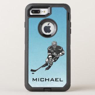 Hockey-Entwurfs-Otter-Kasten OtterBox Defender iPhone 8 Plus/7 Plus Hülle