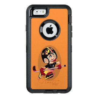 HOCKEY-SPIELER-CARTOON Apple iPhone 6 DS OtterBox iPhone 6/6s Hülle