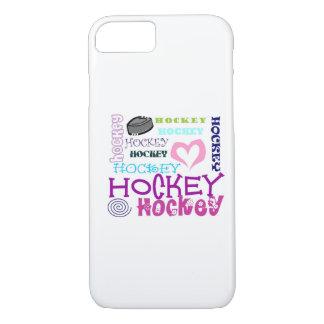 Hockey-Wiederholen iPhone 8/7 Hülle