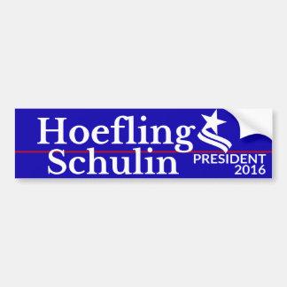 Hoefling/Schulin für Präsidenten u. Autoaufkleber