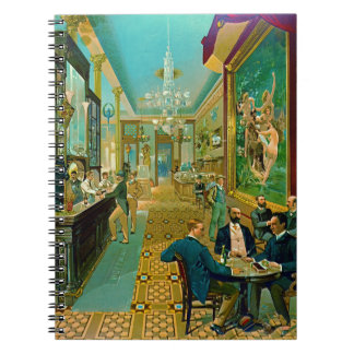 Hoffman-Haus-Bar 1890 Notiz Buch