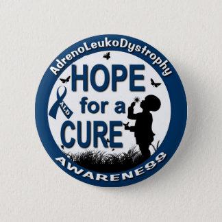 Hoffnung für eine Heilung Runder Button 5,7 Cm