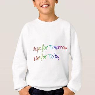 Hoffnung für morgen sweatshirt