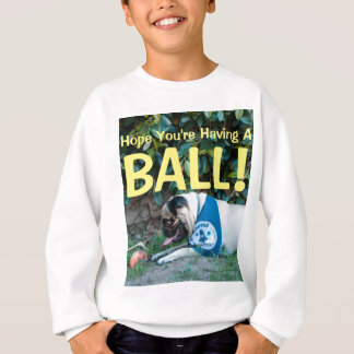 Hoffnung haben Sie EINEN BALL! Sweatshirt