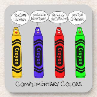 Höfliche Farben Untersetzer