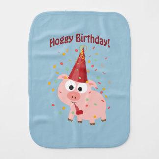 Hoggy Geburtstags-Schwein Spucktuch