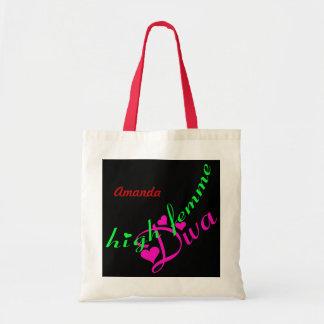 Hohe Femme Diva-kundengerechte Taschen