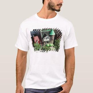 Hohe Winkelsicht der Nachbarschaft, Kanada T-Shirt