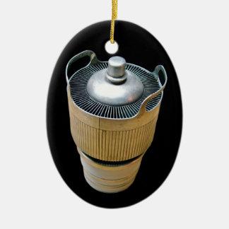 Hoher Power-übertragende Vakuumrohr-Verzierung Ovales Keramik Ornament