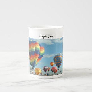Hoher Tee-Ballon-Fiesta Porzellan-Tasse
