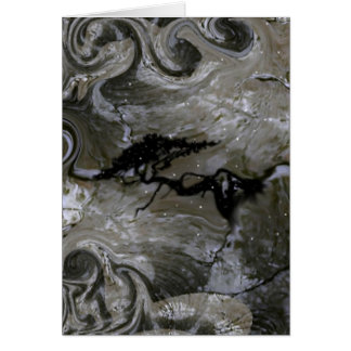 Höhlenbewohner-Produkte Grußkarte