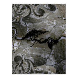 Höhlenbewohner-Produkte Postkarte
