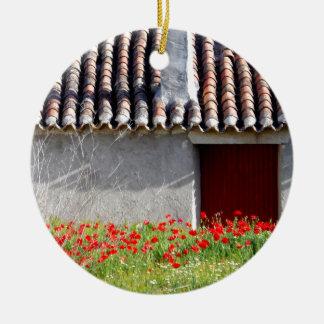 Hola Espana/hallo Spanien-Reise Rundes Keramik Ornament