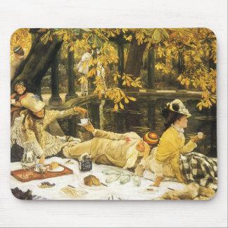 Holyday, das Picknick durch James Tissot, Mauspads