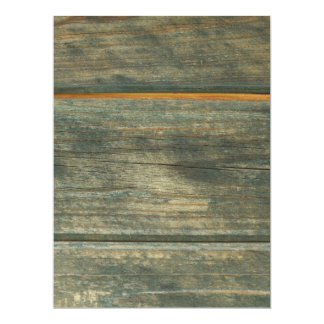 Holz 16,5 X 22,2 Cm Einladungskarte