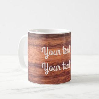 Holz Kaffeetasse