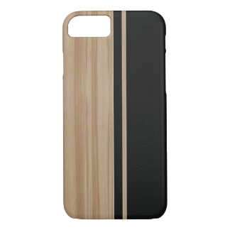 Holz-u. Kohlenstoff-Faser iPhone 7 Fall iPhone 8/7 Hülle