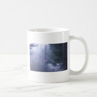 Holz und US-Flagge Kaffeetasse