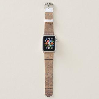 Hölzerne Beschaffenheit Apple Watch Armband