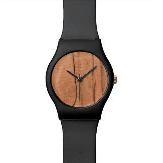 Hölzerne Beschaffenheit Armbanduhr