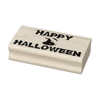 Hölzerne Kunst-Briefmarken Halloweens/der Hut der Gummistempel