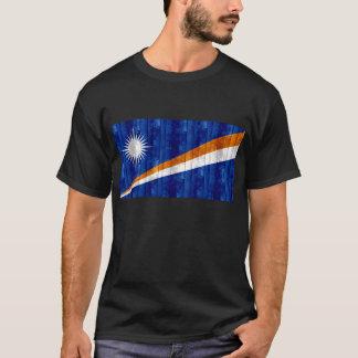 Hölzerne Marshallese Flagge T-Shirt