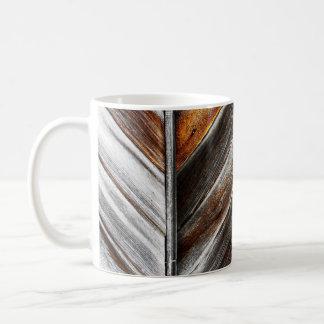 Hölzerne Muster-Tasse Tasse
