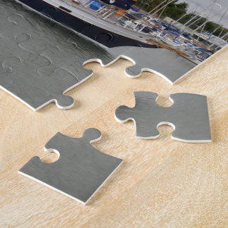 Hölzerne Yacht-Schleiereule Puzzle