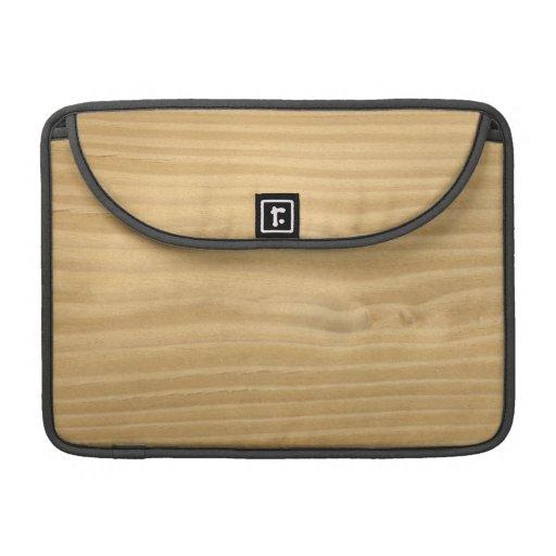 Hölzernes Korn Macbook Prohülse Sleeve Für MacBooks