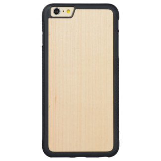 Hölzernes StoßiPhone 6/6s plus Fall Carved® Maple iPhone 6 Plus Bumper Hülle