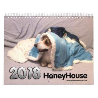 HoneyHouse Corgis-Kalender für 2018 Abreißkalender