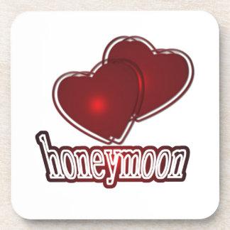 Honeymoon Getränk Untersetzer
