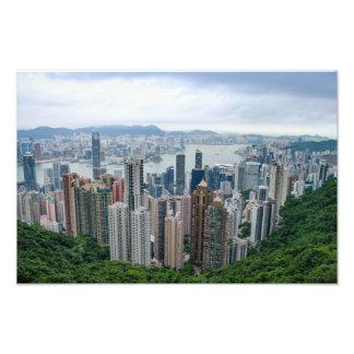 Hong Kong-Skyline Fotodruck