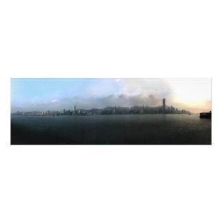 Hong Kong-Stadtbild Fotodruck