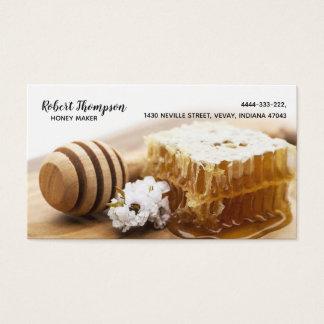 Honig-Hersteller-Imker Biene-Meisterc$biene-esser Visitenkarte