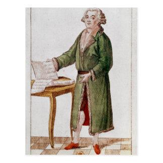 Honore Gabriel Riqueti Mirabeau Postkarte