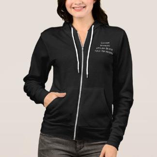 Hoodie-Jacke der kundenspezifischen Frauen Hoodie