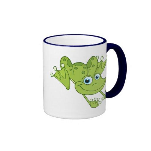 Hopfenreich der glückliche Frosch Kaffee Haferl