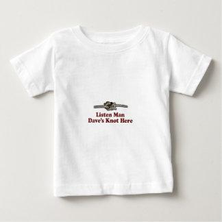 Hören Mann-Daves Knoten hier - Multi-Produkte Baby T-shirt
