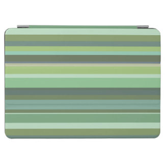 Horizontale Streifen des Olivgrüns iPad Air Cover