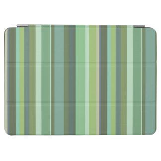 Horizontale Streifen des Olivgrüns iPad Air Hülle