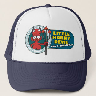 Horniger kleiner Teufel-Hut Truckerkappe
