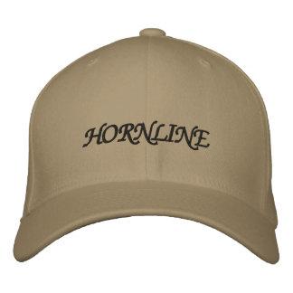 HORNLINE BESTICKTE KAPPE