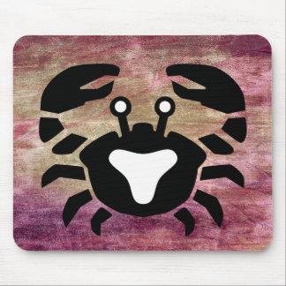 Horoskop-Zeichen-Krebs-Tierkreis-Mausunterlage Mousepads
