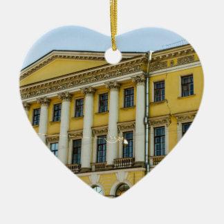 Hotel Neva Fluss Keramik Ornament