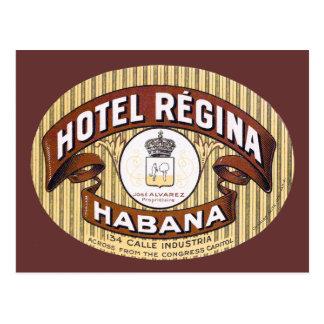 Hotel Regina Habana Kuba Postkarte