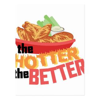 Hotter ist besser postkarten