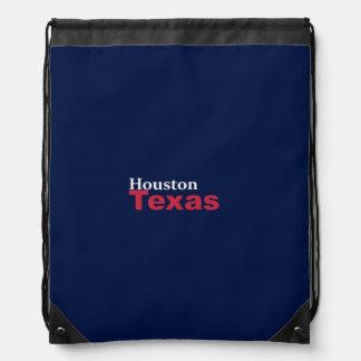 Houston, Texas Drawstring-Rucksack Turnbeutel