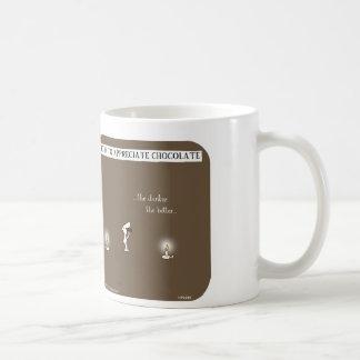 "HP2280 ""Harold dunkles Dunkleres der Hobel"" Schoko Kaffeehaferl"