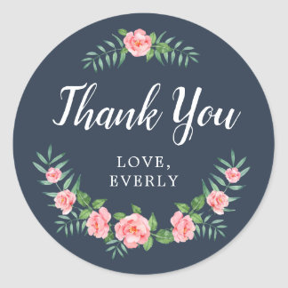 Pretty Petals Thank You Stickers
